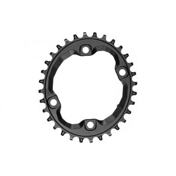 absoluteBlack A96BCD Shimano XT / SLX Oval Chainring for HG+ 12 Speed