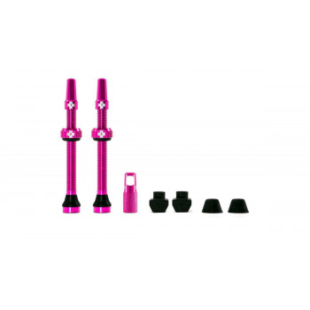 Muc-Off Tubeless Valve Kit 60mm Pink