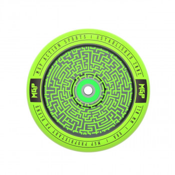 Madd Gear 110mm Corrupt Scooter Wheel Green