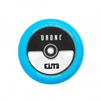 Drone X Elite Collaboration Hollowcore 110mm Wheel Blue PU