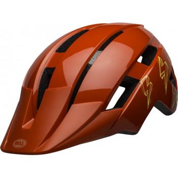 Bell Youth Sidetrack II MIPS MTB Helmet Red Bolt