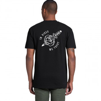 Evo Cycles Men's In Bikes We Trust Ltd Tee Black