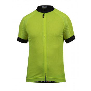Funkier Men's Parma Active SS Jersey Yellow