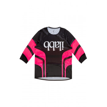 ilabb Men's Don Race 3/4 Jersey Black/Pink