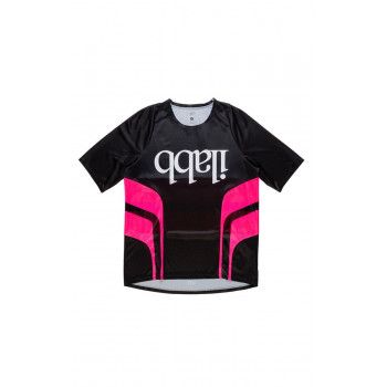 ilabb Men's Don Race SS Jersey Black/Pink