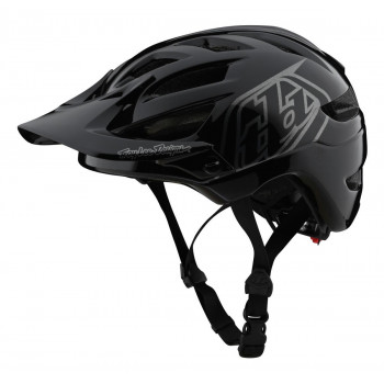 Troy Lee Designs Youth A1 AS Drone Helmet Black / Silver