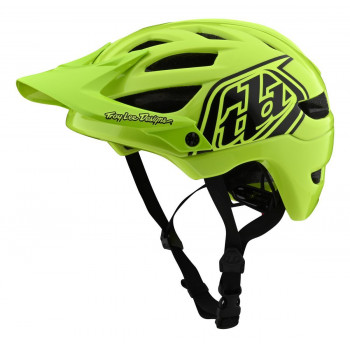 Troy Lee Designs Youth A1 AS Drone Helmet Flo Yellow / Black