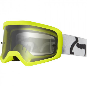 Fox Youth Main II PC Prix Goggles Grey