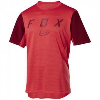 Fox Men's Flexair SS Moth Jersey Bright Red