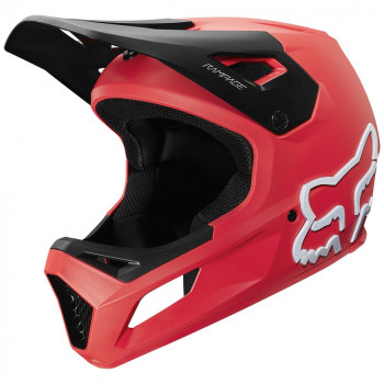 Fox Youth Rampage Helmet Bright Red