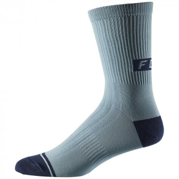 Fox 8 Inch Trail Socks Light Blue