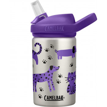 Camelbak Eddy+ Kids' Stainless Steel Drink Bottle 0.4L