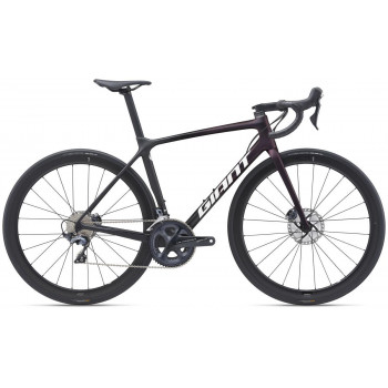 2021 Giant TCR Advanced Pro 1 Disc Road Bike Rosewood/Carbon
