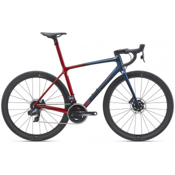 2021 Giant TCR Advanced SL 1 Disc Road Bike Cosmos Navy
