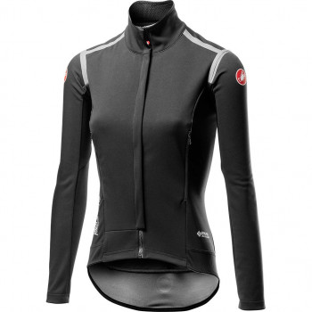 Castelli Women's Perfetto RoS Long Sleeve Jacket Black