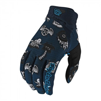 Troy Lee Designs Artist Series Air Gloves Elemental Navy