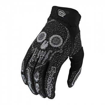 Troy Lee Designs Artist Series Air Gloves Gear Head Black