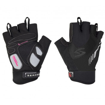 Serfas Women's RX-8 Fingerless Gloves Black