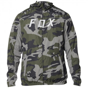 Fox Men's Moth Windbreaker Jacket Camo
