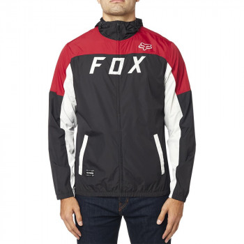 Fox Men's Moth Windbreaker Jacket Black/Red