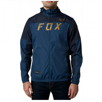 Fox Men's Moth Windbreaker Jacket Light Indigo