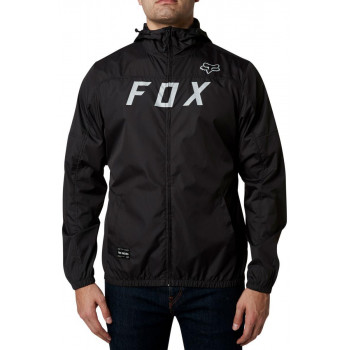 Fox Men's Moth Windbreaker Jacket  Black/Grey