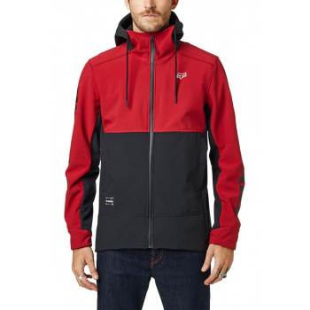 Fox Men's Pit Softshell Jacket Cardinal