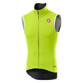 Castelli Men's Perfetto RoS Vest Yellow Fluo