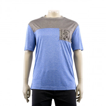 Chromag Men's Rove SS Jersey Blue/Charcoal Heather