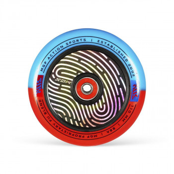 MGP MGX Shredder 110mm Scooter Wheel Red / Blue