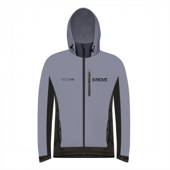 ProViz Men's Reflect 360 Outdoor Fleece-Lined Hooded Jacket