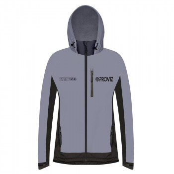 ProViz Women's Reflect 360 Outdoor Fleece-Lined Hooded Jacket