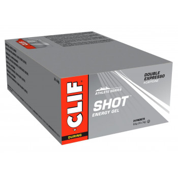 Clif Shot Energy Gel - Double Expresso With 100mg Caffeine