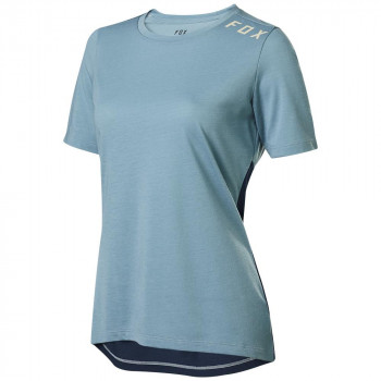 Fox Women's Ranger Dri-Release SS Jersey Light Blue