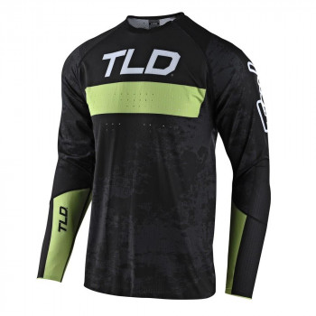 Troy Lee Designs Sprint Ultra Jersey Grime Black / Glo Green