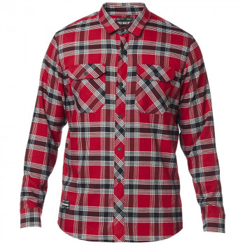 Fox Men's Fusion Tech Flannel Cardinal