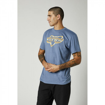 FOX Men's Razors Edge SS Tee Matte Blue