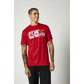 FOX Men's Wayfarer SS Tee Chili