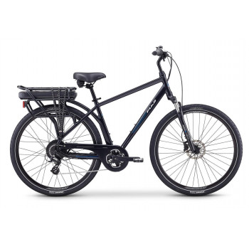 Fuji E-Crosstown Electric Bike Pearl Black