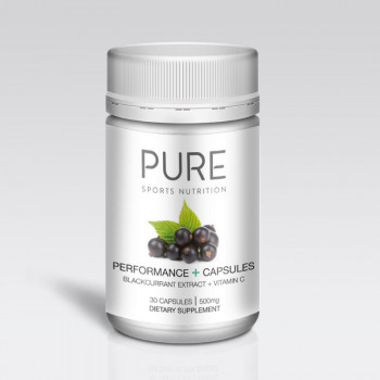 Pure Performance Plus Capsules Blackcurrant Extract