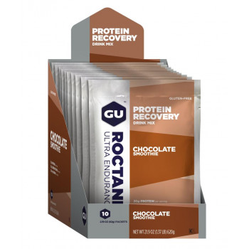 GU Roctane Protein Recovery Drink Mix (10 x 61g Packets)